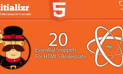 20 Essential Snippets for HTML5 Boilerplate